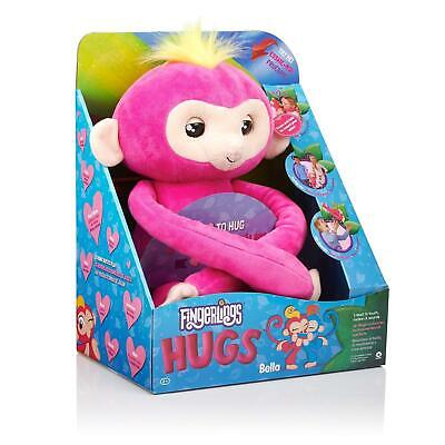 AU60 • Buy Fingerlings Hugs Plush - Bella Pink With 40+ Sounds 2+ Years