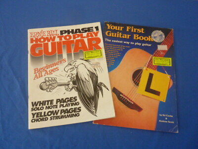 Your First Guitar Book / How To Play Guitar - Childrens Book • 16.73£