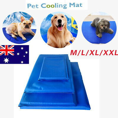 AU24.96 • Buy NEW Pet Cool Gel Mat Dog Cat Bed Non-Toxic Cooling Pad Puppy Kitten Summer Pad
