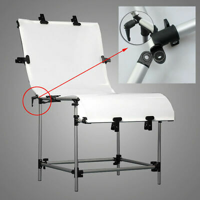 60x130CM Large Photo Studio Still Life Product Display Shooting Table Free Clamp • 59.99£