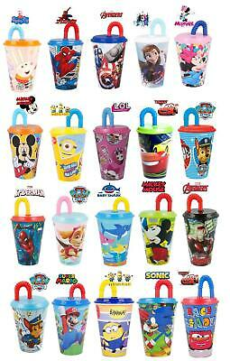 £6.48 • Buy New Design Kids Character Sports Tumbler 430ML Drinking Plastic Cup With Straw