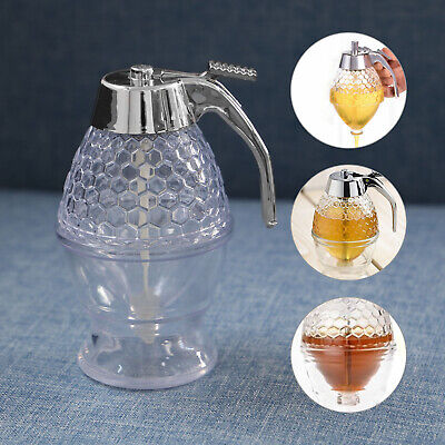 AU9.69 • Buy Retro Honey Syrup Dispenser Pot Jar Bee Hive Trigger Kitchen Tool AU STOCK