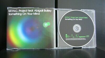 AU1.95 • Buy M.Y.N.C Project Feat Abigail - Something On Your Mind 6 Track CD Single