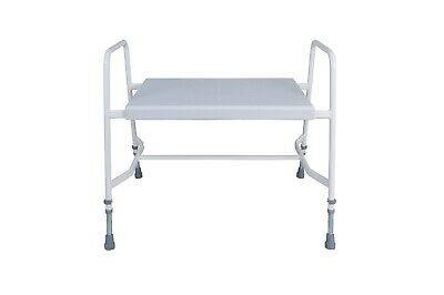 £219.95 • Buy Super Bariatric Shower Perching Stool Heavy Duty Armrests