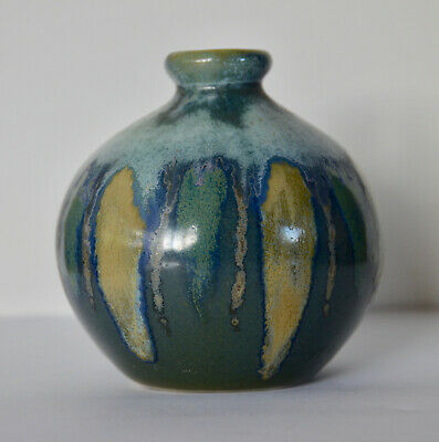 Anita Harris Pottery Small Bulbous Vase Signed A Harris Trail • 19.99£