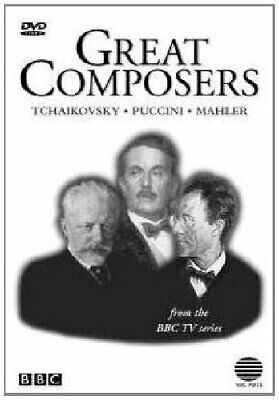 Great Composers Series - Great Composers: Mahler / Tchaikovsky / ... - DVD  W0LN • 11.58£