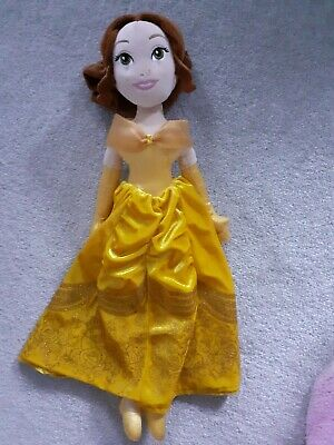 Official VGC Disney Store Princess Belle Soft Plush Doll Toy Beauty & The Beast • 11.99£