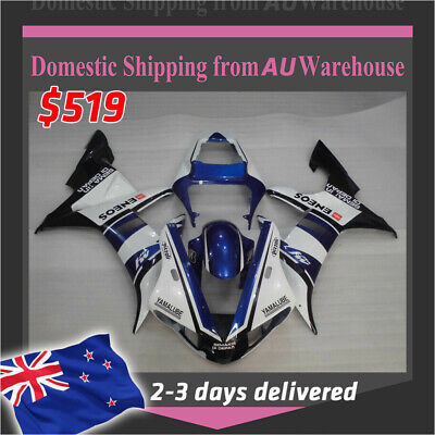 AU529.99 • Buy FK Black Injection Plastic Fairing Fit For Yamaha 2004 2005 2006 YZF R1 ABS A026