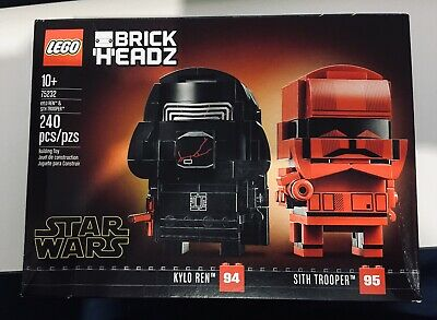 AU43 • Buy Lego 75232 BrickHeadz Star Wars Kylo Ren & Sith Troop - Dented/Shelfwear BNIB