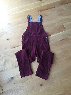 Excellent Condition Fat Face Red Dungarees Aged 12-13 • 0.99£