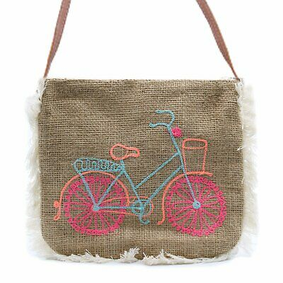 Fab Fringe Bag - Bicycle Embroidery • 10.95£