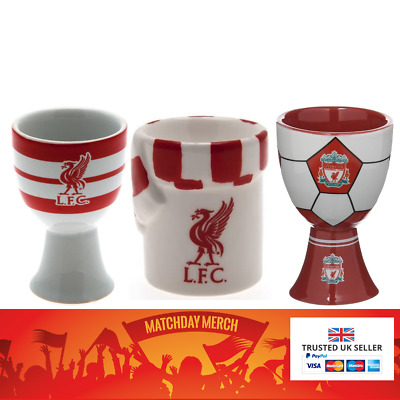 Liverpool FC Official Egg Cups Selection Great Gift • 5.99£