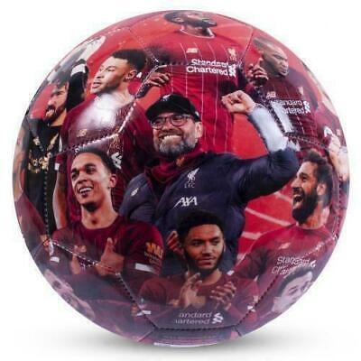 LIVERPOOL FC League CHAMPIONS Size 5 Ball PHOTO FOOTBALL - GREAT GIFT, XMAS • 15.89£