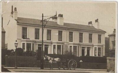 Wirral Wallasey - Huntington's Dairy Horse & Cart - Moorhouse Real Photo 1906  • 6.99£