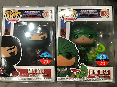 $59.99 • Buy *nycc 2020* Funko Pop! Masters Of The Universe King Hiss & Ninjor Mint!