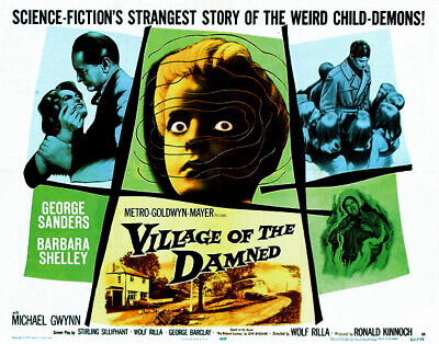 Village Of The Damned 1960 Sci-fi/horror George Sanders Dvd • 3.50£