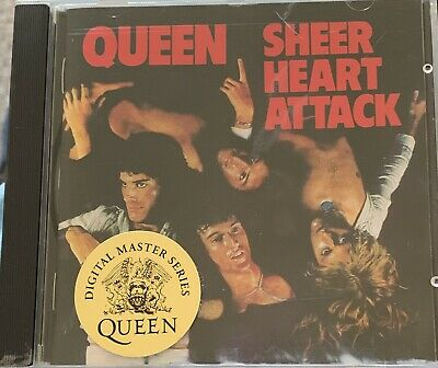 Queen Sheer Heart Attack 1993 Remastered CD 💿 • 5£
