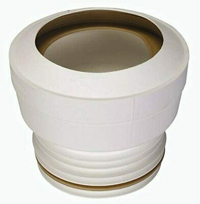 Multikwik MKS1 Straight Standard WC Toilet Pan Connector To 110mm Soil Pipe • 6.37£