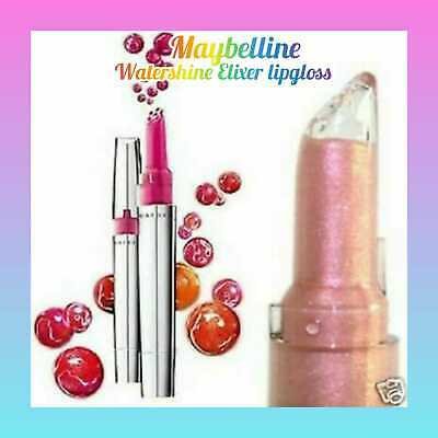 Maybelline Water Shine Elixir Lip Gloss # Choose Your Own Colour# • 2.99£