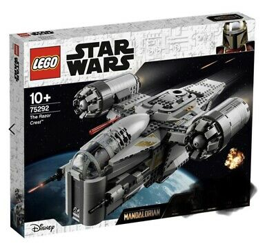 AU169 • Buy LEGO 75292 Star Wars Mandalorian The Razor Crest - Set Only. NO FIGURES NO BOX.