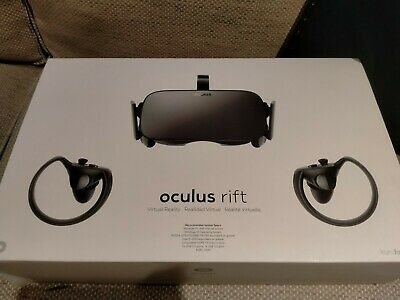 AU250 • Buy Oculus Rift VR CV1 Headset, Touch Controllers, 2 X Sensors. Great Condition