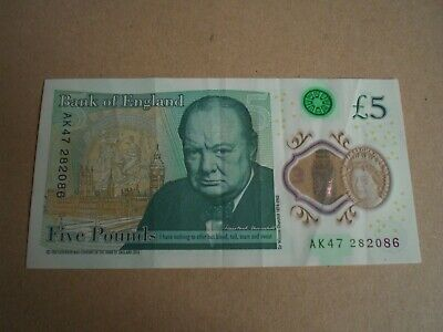 Polymer Five Pound Note Ak47 • 10£