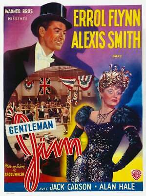 Gentleman Jim 1942 Errol Flynn Dvd • 3.50£