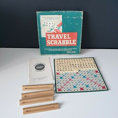 Vintage Travel Scrabble By Spears Games  • 6.99£
