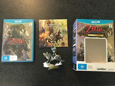 AU59 • Buy The Legend Of Zelda Twilight Princess Wii U Complete With Soundtrack And Amiibo