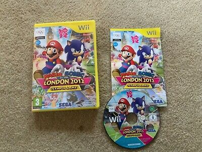 Mario & Sonic At The London 2012 Olympic Games (Nintendo Wii, 2011) • 3.70£