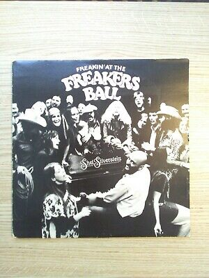 Shel Silverstein - Freakin' At The Freakers Ball Ft Dr Hook Vinyl LP Play Tested • 4.95£