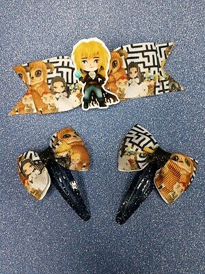 Handmade Labyrinth Inspired Hair Bows. 80's Movies/retro/Bowie • 5£