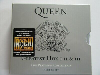 Queen Platinum Collection: Greatest Hits I II & III Box Set (1,2 & 3)  • 6.99£