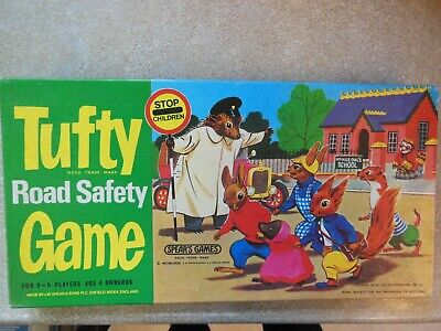 Tufty Road Safety Game 70s Vgc Spears  • 4.99£