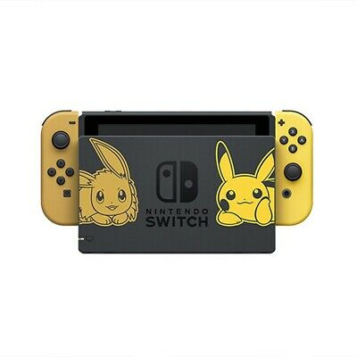 AU464 • Buy Nintendo Switch Pokemon Let's Go! Limited Edition Console (Premium Refurbished B