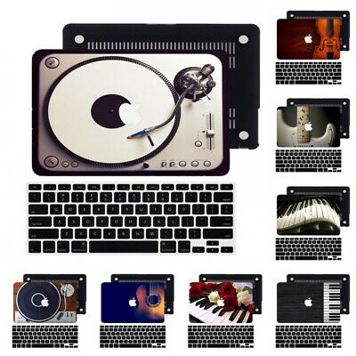 $16.37 • Buy Music Element Design Rubberized Hard Cut Out Case Cover For New Macbook Pro Air