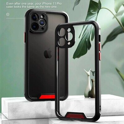 AU9.95 • Buy For IPhone 12/12 Pro/12 Max/Pro Mini 11 XS  Clear Armor Bumper Shockproof Case