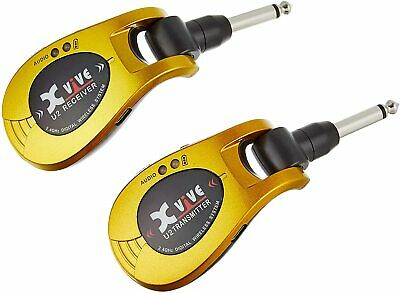 AU193.51 • Buy Xvive Audio U2 Guitar Wireless System - Gold From Japan New