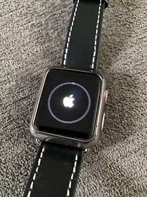 $ CDN60.77 • Buy Apple Watch Series 1 38mm Rose Gold In Good Condition W/ Leather Band!