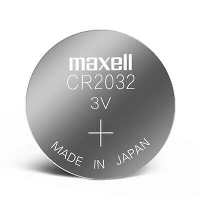 £2.50 • Buy 5 X CR2032 Maxell 3v Watch Scales Car Remote Round Flat Coin Button Battery