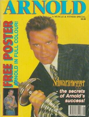 Muscle & Fitness Bodybuilding Special Schwarzenegger Secret's Arnold Success • 19.99£