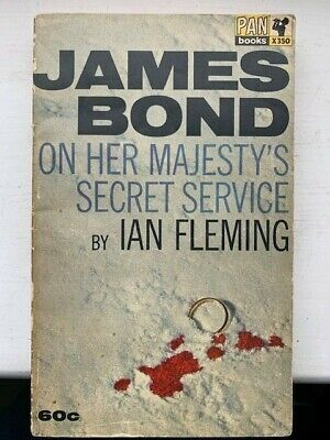 Ian Fleming On Her Majesty's Secret Service Rare 1964 Pan Printing • 49.99£