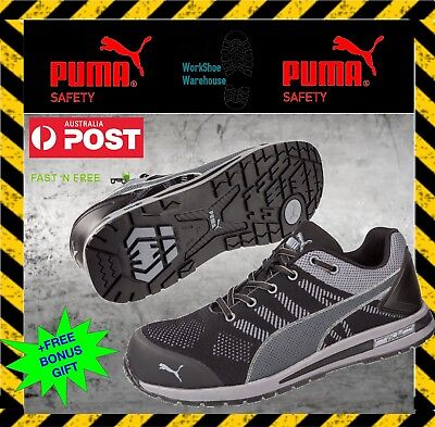 AU139.95 • Buy Puma ELEVATE KNIT 643167 - LIGHT WEIGHT Anti-Slip, Safety, Work Boot / Shoes