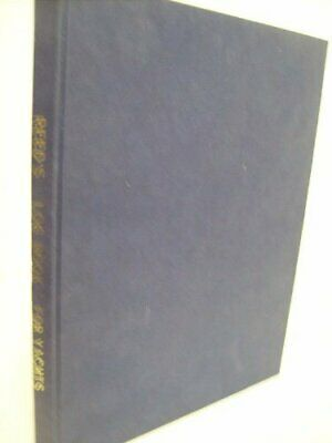 Reed's Log Book For Yachts By Watts, O.M. Hardback Book The Cheap Fast Free Post • 8.99£