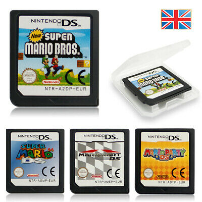 Super Mario Bros/Mario Kart/64/Party Game Card For Nintendo DS DSi 3DS XL LL NDS • 7.98£