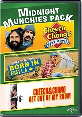 £13.06 • Buy Midnight Munchies Pack Cheech And Chong's Next Movie / Born In East L.A. / & Get