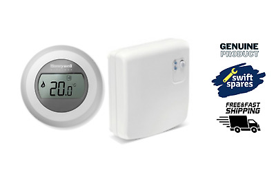 Honeywell Y87RF2024 Single Zone Mobile Compatible Thermostat, 230 V, White/Grey • 64.99£