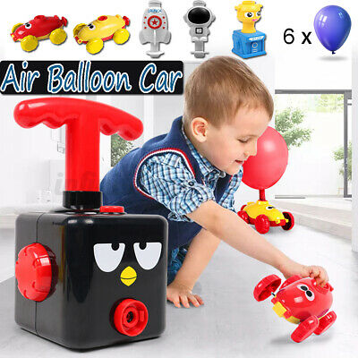 AU29.87 • Buy Fun Inertia Balloon Launcher & Powered Car Toys Set For Kids Game Experiment