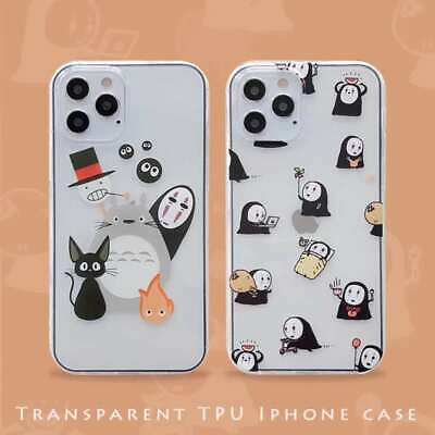Cartoon Totoro Transparent TPU Case Cover For Apple IPhone 6 7 8 X 11 12 SE 2 • 3.75£
