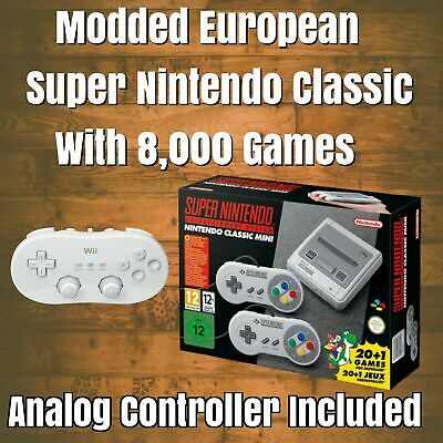 $ CDN330.36 • Buy European SNES Classic Edition With 8,000 Games NO BOX!!